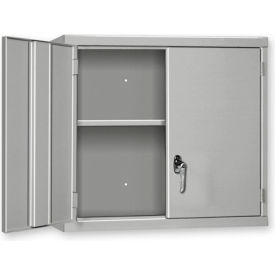 """Pucel Wall Cabinet WC-4827  - 48""""W x 14""""D x 27""""H, Gray"""
