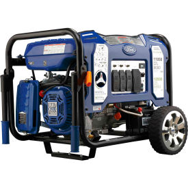 Ford FG11050PBE, 9000/8550 Watts, Portable Generator, Gasoline/LP, Electric/Recoil Start, 120/240V