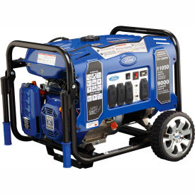 Ford FG11050PE, 9000 Watts, Portable Generator, Gasoline, Electric/Recoil Start, 120/240V