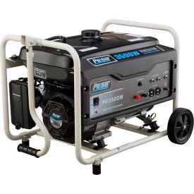 Pulsar PG3500M, 3000 Watts, Portable Generator, Gasoline, Recoil Start, 120V