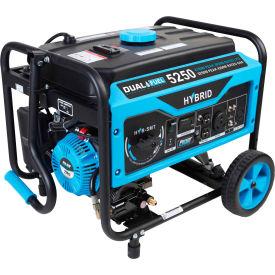 Pulsar PG5250B, 4250/3850 Watts, Portable Generator, Gasoline/LP, Recoil Start, 120/240V