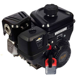 Briggs & Stratton 13L332-0036-F8, Gas Engine 6.5 HP Vanguard-Tiller, Blower, Log, Horizontal Shaft by