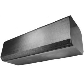 "Powered Aire® NSF-37 Certified Air Curtain, 48""W Door, 208V, 3/4HP, 3 PH, Stainless Steel"