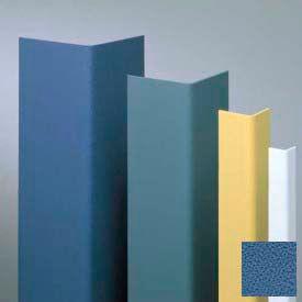 "Vinyl Surface Mounted Corner Guard, 135° Corner, 1-1/2"" Wing, 4'H, BL Bird, Drilled"