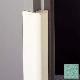 "Door Frame Guard, 3"" Wing, 4'L, Pale Jade"