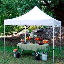 Festival™ Instant Canopy 10'L x 10'W - White
