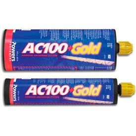 Powers 8490SD - AC 100+ Gold® Adhesive Anchor - SBS - 28 Oz. - Pkg Qty 8