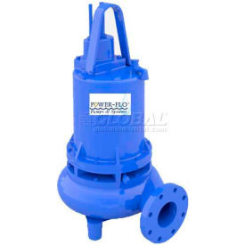 "Power-Flo 4"" Pump, Double Seal, 11.3HP, 1750RPM, 208v, 3PH, 60Hz."