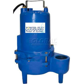 "Power-Flo 2"" Pump 0.4 HP, 1750RPM, 115V, 1PH, 60Hz. - Automatic Operation"