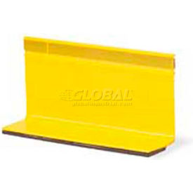 """4"""" Temporary Overlay Pavement Marker, 2-Way, Yellow Package Count 500 by"""