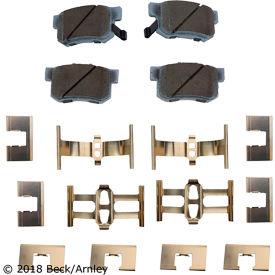 Premium Asm Pads W / Hardware - Beck Arnley 085-6498