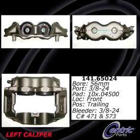 Centric Semi-Loaded Brake Caliper with New Phenolic Pistons, Centric Parts 141.65024