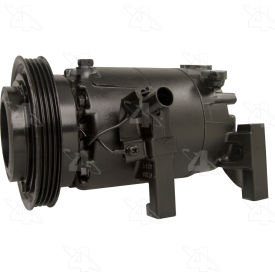 Reman Halla HCC-VS12 Compressor w/ Clutch - Four Seasons 157370