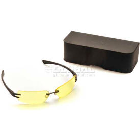 DV30™ Eyewear Black Frame/Yellow Tinted Lens, Anti-Reflection Coating
