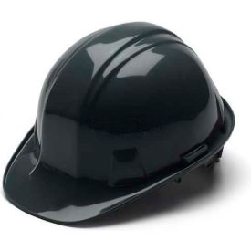 Black Cap Style 4 Point Ratchet Suspension Hardhat Package Count 16 by