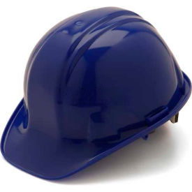 Blue Cap Style 4 Point Ratchet Suspension Hardhat Package Count 16 by