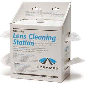 Lens Cleaning Station, 16oz Solution, 1200 Tissues