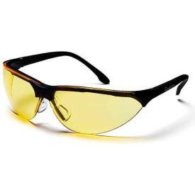 Rendezvous® Eyewear Amber Lens , Black Frame - Pkg Qty 12