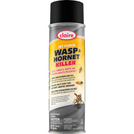 Claire Jet Force Wasp & Hornet Killer, 20 oz. Aerosol Spray CL005 Package Count 12 by