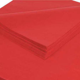 "Tissue Paper, 10#, 20"" x 30"", Scarlet, 480 Pack"