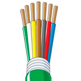 Quick Cable 234302-500 Multi Conductor Jacketed, 14/6, 12/1 Gauge