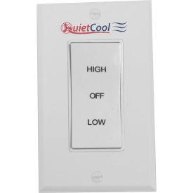 QuietCool Hi/Low/Off Rocker Switch & Plate IT-35000