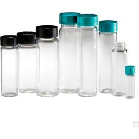 Qorpak GLC-05185 Pre-Cleaned Clean Glass Screw Thread Sample Vials, 1 dram (4ml), Case of 144