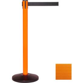 Orange Post Safety Barrier, 7.5ft, Orange Belt - Pkg Qty 2
