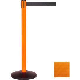 Orange Post Safety Barrier, 11 Ft., Orange Belt - Pkg Qty 2