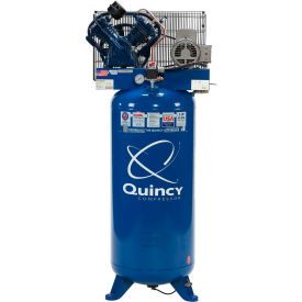 Quincy QT™ Pro Two-Stage Air Compressor, 54 HP, 60 Gallon, Vertical, 230V-1-Phase