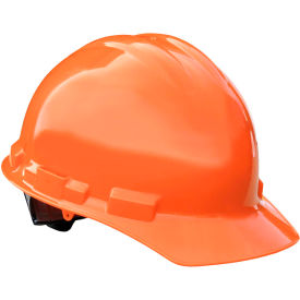 Radians GHP4 Granite Cap Style Hardhat, 4-Point Pinlock Suspension, Orange by