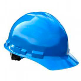 Radians GHP6 Granite Cap Style Hardhat, 6 Point Pinlock, Blue by
