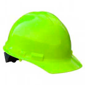 Radians GHP6 Granite Cap Style Hardhat, 6 Point Pinlock, Hi-Viz Green by