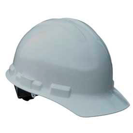 Radians GHR4 Granite Cap Style Hardhat, 4 Point Ratchet, Gray by