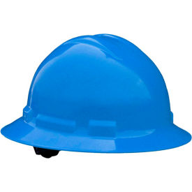 Radians QHP4 Quartz Full Brim Hardhat, 4-Point Pinlock Suspension, Gray by