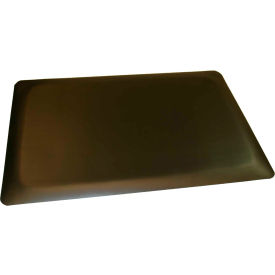 "Rhino Mat 1/2"" Thick Conductive Smooth Anti-Fatigue Mat, 2' x 3' Black - CS-2436TT"