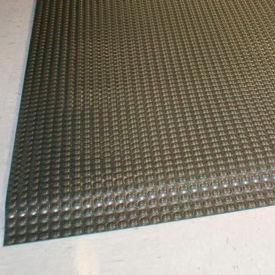 "Rhino Mats Reflex® Raised Domed Interactive Surface Anti-Fatigue Mat, 1"" Thk 3' x 5', Glssy Blk"