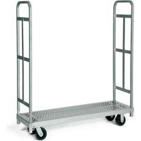 "Raymond Products 3986 Narrow Tall End Truck - 5"" Swivel Phenolic Casters - 2 Uprights"