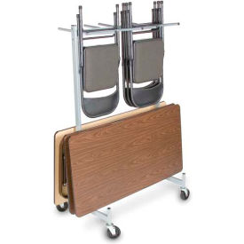 Hanging Folded Chair & Table Storage Truck - Compact