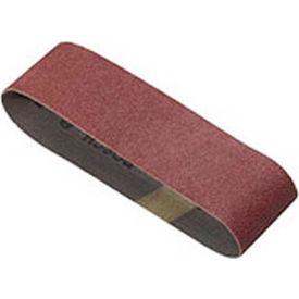 """BOSCH® SB4R120, 3"""" X 21"""" Sanding Belt, Red, 120 Grit (3 Pk), Merchandisable Carton"""