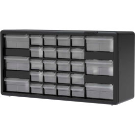 "Akro-Mils Plastic Drawer Parts Cabinet 10126 20""W x 6-3/8""D x..."