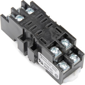 Relay and Control GT-08-PC Relay Socket, 300V @ 10 Amps, Din Rail Mountable
