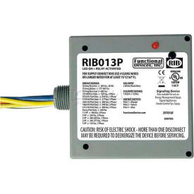 RIB Enclosed Power Relay RIB013P, 20A, 3PST, 120VAC by