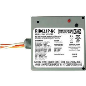 RIB Enclosed Power Relay RIB023P-NC, 20A, 3PST-NC, 208-277VAC by