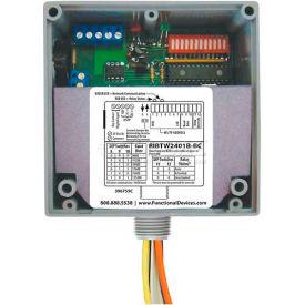 RIB® BacNet Enclosed Relay RIBTW2401B-BC, 20A, SPDT, 24VAC/DC/120VAC, W/1 Digital Input