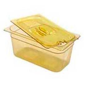 Rubbermaid Commercial Fg224p00 Ambr Hot Food Container - 6-3/8 Quarts - Pkg Qty 6
