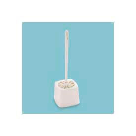"Rubbermaid® 5"" Dia. Plastic Toilet Bowl Brush Holder, White - RCP631100WE - Pkg Qty 24"