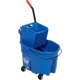 Rubbermaid WaveBrake® 2.0 Side Press Mop Bucket & Wringer Combo - Blue