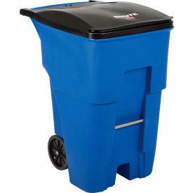 Rubbermaid Brute® 95 Gallon Rollout Container - FG9W2273BLUE