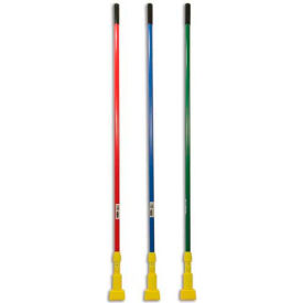 "Rubbermaid® 60"" Fiberglass Gripper Clamp Mop Handle, Yellow - RCPH246GY - Pkg Qty 12"